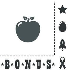 Apple - icon vector