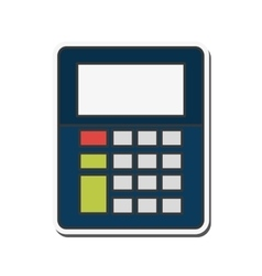 Calculator tool instrument design vector