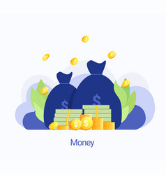 concept big money vector image