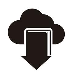 E-book download graphic design vector