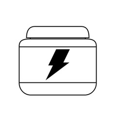 Protein supplement icon image vector