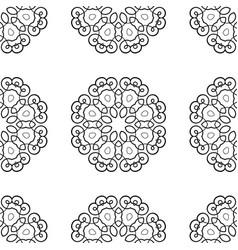 Vintage seamless pattern vector