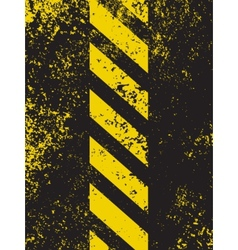 A grungy and worn hazard stripes texture EPS 8 vector image vector image