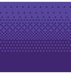 Pixel art style purple gradient background vector image vector image
