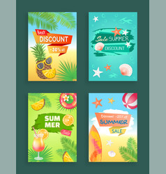 Best discount summer sale vector