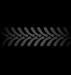 black tyre marks vector image