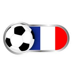 france soccer icon vector image