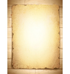 Grunge burnt paper vector