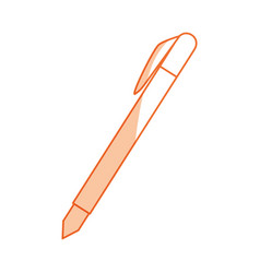 Isolated study pen vector