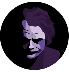 Joker heath ledger vector