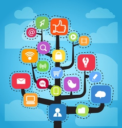 Media tree vector