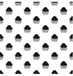 rain pattern seamless vector image