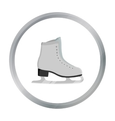 Skates icon cartoon Single sport icon from the vector