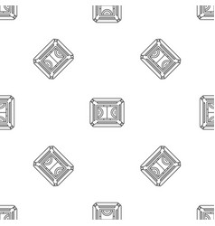 top view sport field pattern seamless vector image