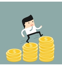 Business situation vector image vector image
