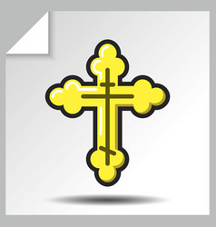 religion icons 2 vector image
