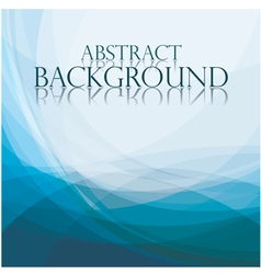 Abstract blue background vector image vector image