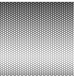 Abstract geometric black and white pattern vector