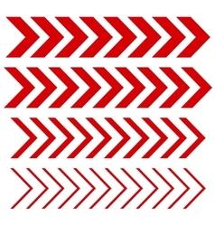 Arrow Linear signs vector