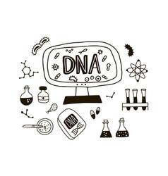 Doodle genome symbols vector
