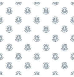 sea food pattern seamless vector image