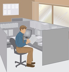 business person vector image