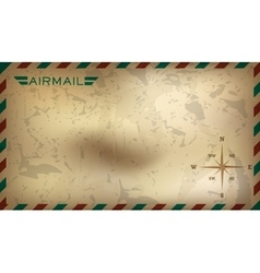 Postal background vector