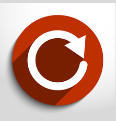 update web icon vector image