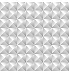 Geometric pattern of bulk pyramids vector image