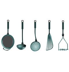 Kitchen utnensils vector
