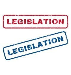 Legislation Rubber Stamps vector image