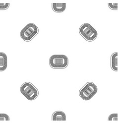 top sport arena pattern seamless vector image