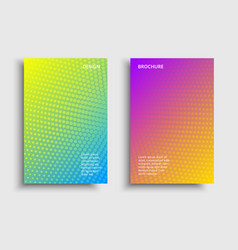 Vibrant gradient tech vector