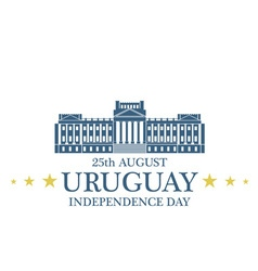 Independence Day Uruguay vector image vector image