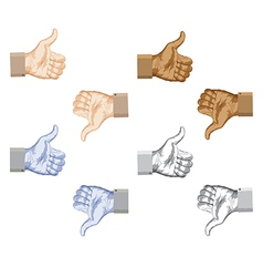 like dislike vector image