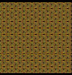 seamless pattern background triangle retro vector image