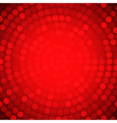 Circular Colorful Red Background for your design vector image vector image