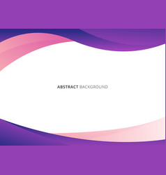 abstract business template pink and purple vector image
