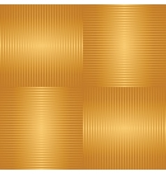 Abstract golden striped seamless background vector image vector image