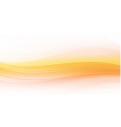 abstract shapes on white and orange background vector image
