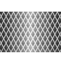 Black and white diamond shaped quadrangle vector