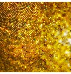 Design on gold glittering background EPS 10 vector