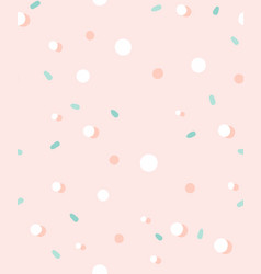 hand drawn abstract graphic simple confetti vector image
