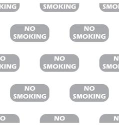 New No smoking seamless pattern vector image