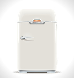 Old Refrigerator vector