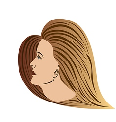 Woman-portrait vector