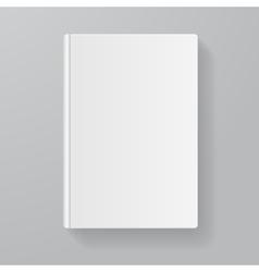 book white blank Flat Design vector image