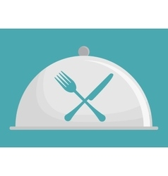 Restaurant related icons emblem vector