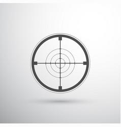 Sniper scope target vector