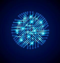 Technology communication luminescent cybernetic vector